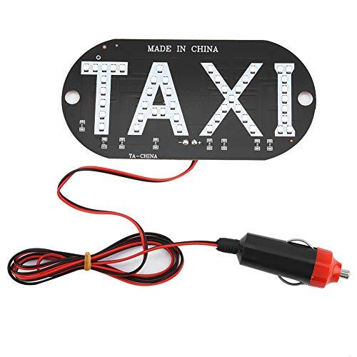 EBTOOLS 12V Taxi Parabrisas Indicador de la luz Indicadora de la Cabina Parabrisas LED Luz Cabina Impermeable Taxi Muestra de Techo Luz