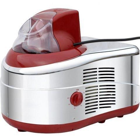 Syntrox Eismaschine mit Kompressor Softeismaschine Frozen Joghurt R