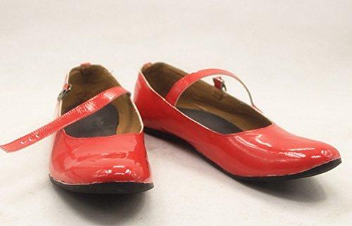 『美少女戦士セーラームーン 火野レイ コスプレ靴 ブーツ[オーダーメイド可] (25.0)』のトップ画像