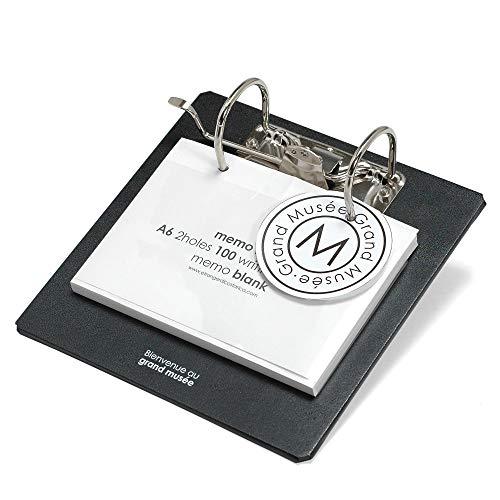 grand musee グランミュゼ メモスタンド CUOIO ブラック 0300-MS-C-002