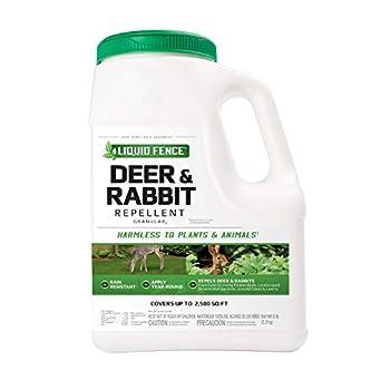 Liquid Fence Deer & Rabbit Repellent Granular 5-Pound