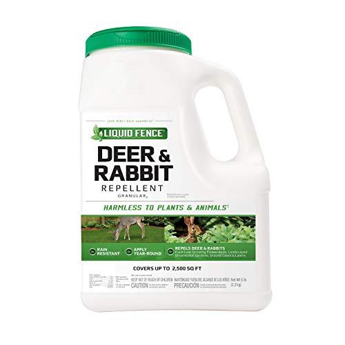 Liquid Fence Deer & Rabbit Repellent Granular, 5-Pound