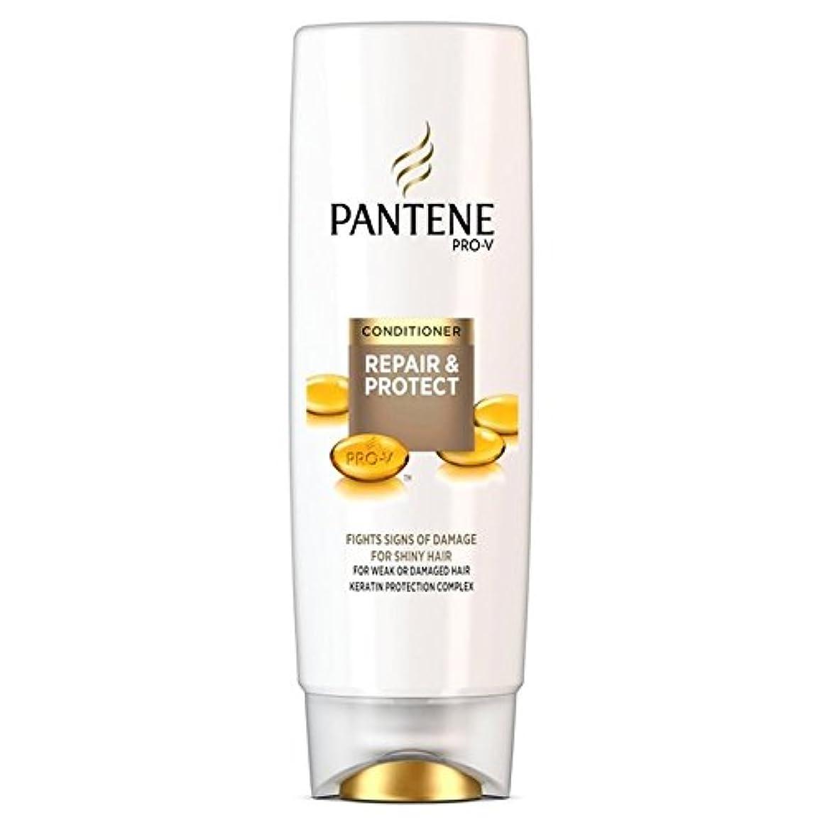 洗練なんでもそこからパンテーンコンディショナーの修理&弱いか、傷んだ髪の250ミリリットルのための保護 x4 - Pantene Conditioner Repair & Protect For Weak Or Damaged Hair 250ml (Pack of 4) [並行輸入品]