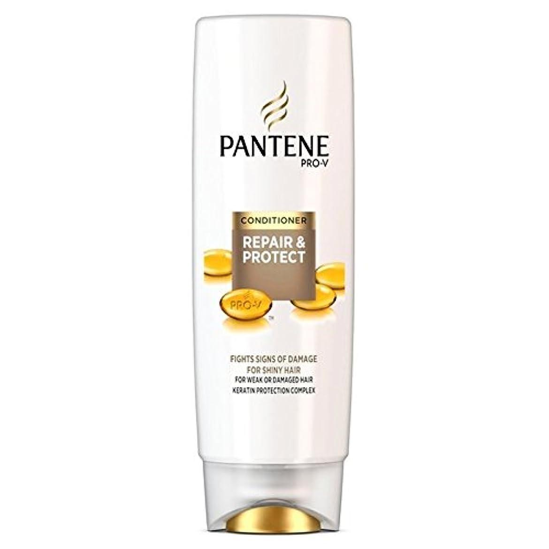 自然武装解除サイドボードパンテーンコンディショナーの修理&弱いか、傷んだ髪の250ミリリットルのための保護 x4 - Pantene Conditioner Repair & Protect For Weak Or Damaged Hair 250ml (Pack of 4) [並行輸入品]