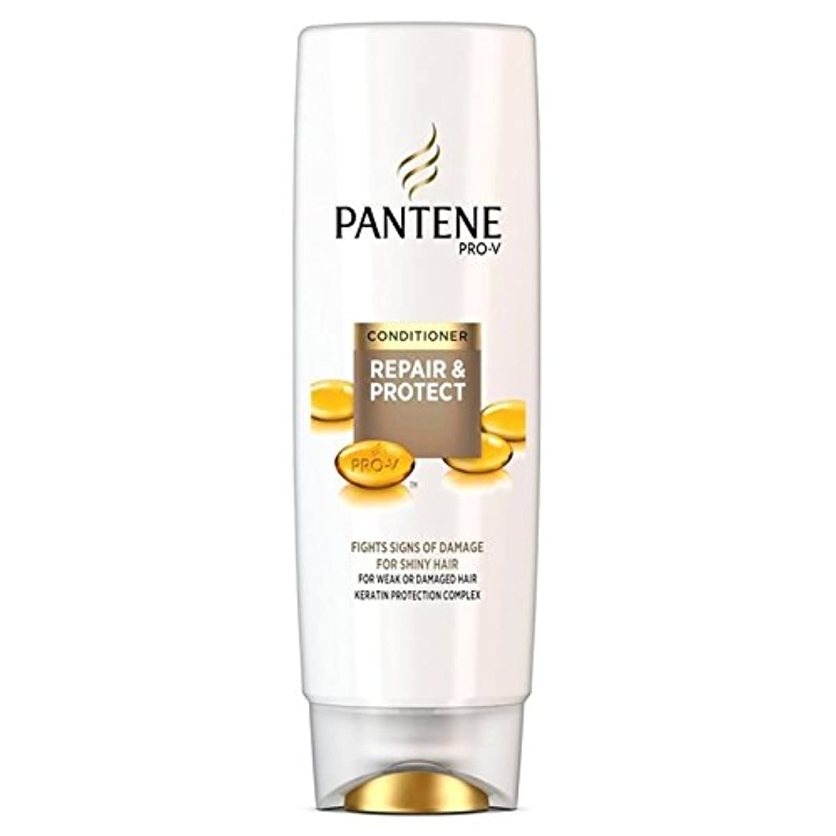 教えマラドロイトそこからパンテーンコンディショナーの修理&弱いか、傷んだ髪の250ミリリットルのための保護 x2 - Pantene Conditioner Repair & Protect For Weak Or Damaged Hair 250ml (Pack of 2) [並行輸入品]