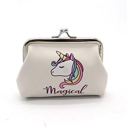 Unicorn Magical Purse Clip Purse Rainbow Girls Coin Money Bag Gift (Gifts &...