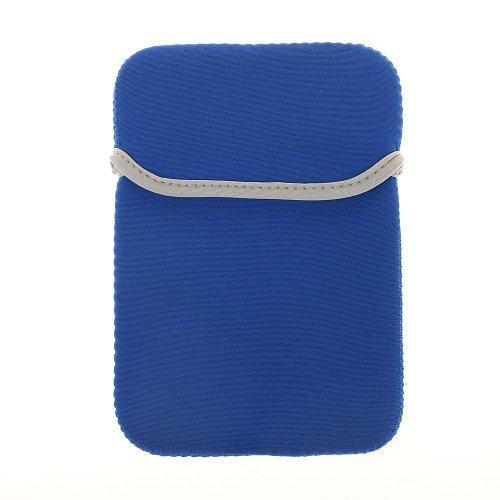 BRALEXX Universal Neopren-Tasche passend für Odys Mira 7 Zoll, Blau
