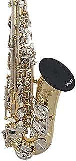 Sponsored Ad - SELMER Trumpet/Alto Saxophone/Bass Clarinet Bell Cover 5 inch (with Merv-13 Filter), Black (CSBC5M)