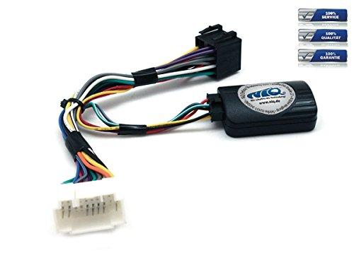 NIQ Adaptador de mando a distancia en el volante adecuado para radios de coche PIONEER compatible con Suzuki Grand Vitara, Kizashi, Swift, Splash, SX4