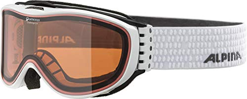 Alpina Challenge 2.0 QH Skibrille, white, One size