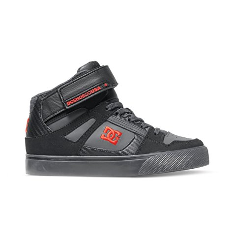DC Shoes Spartan High Se Ev, Baby Jungen Krabbelschuhe, Grau (black/athletic Red/b), 28 EU (10 UK )