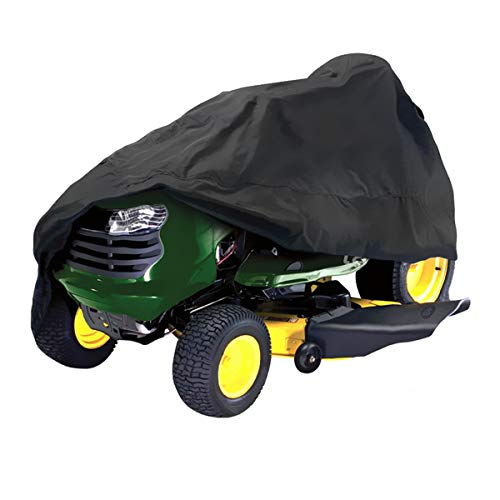 MOMOALA AAlamor 182x111x116cm Zwart Waterdicht Rijgrasmaaier Tractor Hoes UV Bescherming Buiten Opslag
