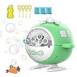 Pickwoo Seifenblasenmaschine für Kinder,Seifenblasen Spielzeug Automatische Blasenblasmaschine USB...