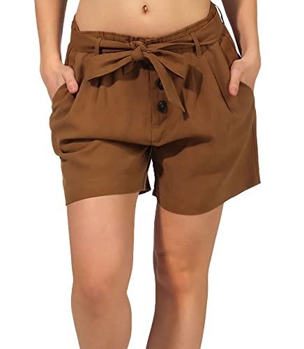 ONLY Female Shorts Taillengürtel MRubber
