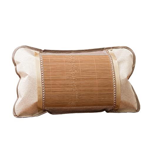 LYRRHT Almohada Almohada De Bambú De Verano Almohada De Bambú Fresca Y Agradable para La Piel Almohada De Bambú para Tapete Individual 35CM*55CM