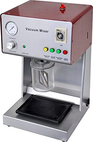 OUBO Brand New Dental Mixing Machine Lab Equipment Digital Vacuum Mixer Lab Vacuum Mixer With Built-in Vacuum Pump Mixing Beaker Optional Electronic Instrument AX-2000B