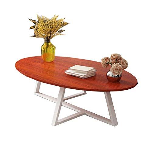 LSX - salontafel salontafel, een paar thee tafel ovale tafel eenvoudige IKEA economie woonkamer creatieve Scandinavische kleine familie thee tafel (4 kleuren, 2 maten). bijzettafel