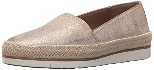 Donald J Pliner Women's Palm Sneaker, Taupe Metallic, 7.5 Medium US