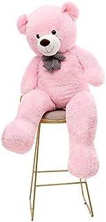 DAYONG 160CM Giant Huge Cuddly Stuffed Animal Plush Teddy Bear for Kids (Pink)