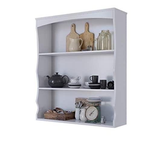Kitchen Wall Shelving Units Amazoncouk Custom Wall Shelving Units For Bedrooms