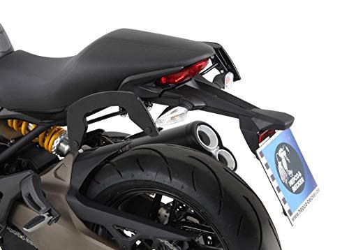 Hepco&Becker C-Bow Seitenträger - schwarz für Ducati Monster 821 (2014-2017)