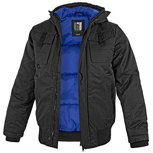 BW-ONLINE-SHOP Winterjacke Mountain schwarz/blau - S