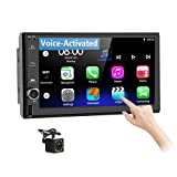 Best Voice Activated Gps - Podofo Double Din Android Car Stereo with Voice-Activated Review