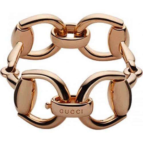 Pulsera Gucci - Horsebit oro Ref. YBA133292002