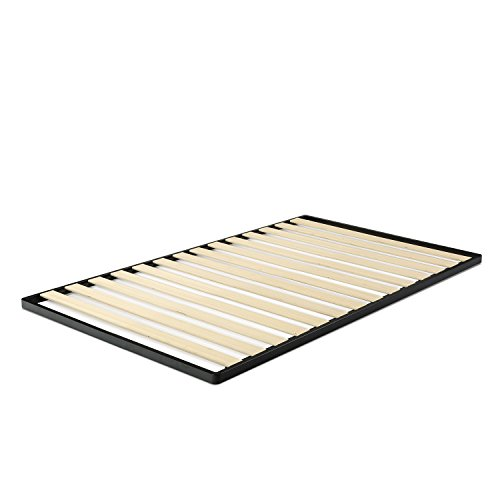 Zinus Deepak Easy Assembly Wood Slat 1.6 Inch Bunkie Board / Bed Slat Replacement, Twin