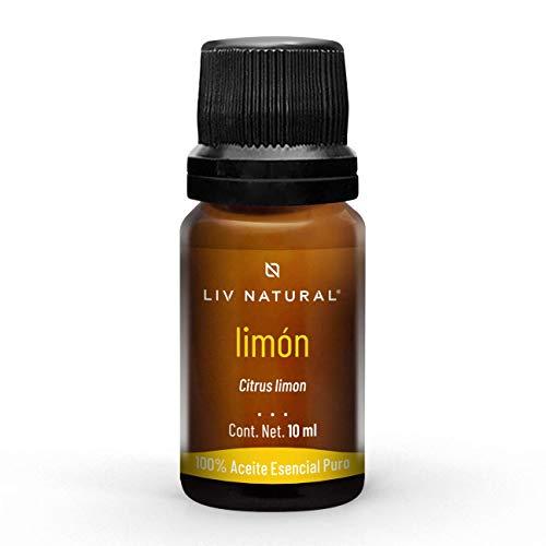 Aceite esencial de Limón PREMIUM LIV natural, 100% puro y natural, grado terapéutico, para aromaterapia, difusor, cuidado personal y belleza.