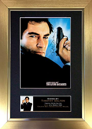 The Gift Room #292 Autogramm, Timothy Dalton, A4
