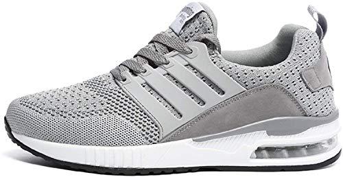H-Mastery Zapatos Respirable en Verano Zapatos para Correr EN Montaña Asfalto Aire Libre Deportes Zapatillas De Running para Hombre Mujer