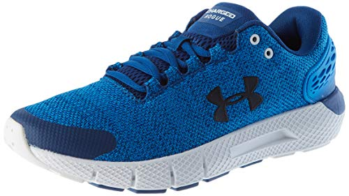 Under Armour Men's Charged Rogue 2 Twist Running Shoe, Academy Blue (400)/White, 9