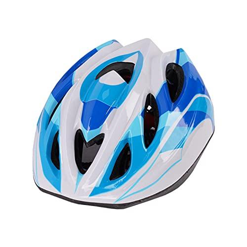 Shubiao Casco de bicicleta para niño con diseño aerodinámico, correa ajustable de ventilación duradera para niño