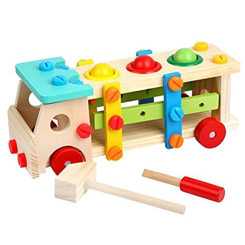 Congci Tornillo de Juguetes para automóviles, Juguetes para bebés y niños, Juguetes de combinación de Tuercas para niños, Destornillador de desmontaje, Juguetes para automóviles, Juguetes educativos