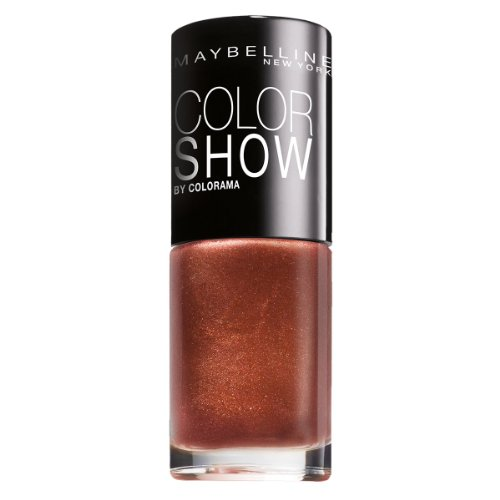 Maybelline New York Make-Up Nailpolish Color Show Nagellack Brick Shimmer / Ultra glänzender...