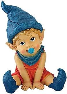 Garden Gnome Statue - Archibald the Baby Gnome - Lawn Gnome