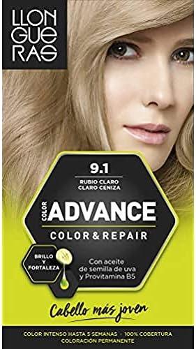 Llongueras Advance Tinte de Cabello Permanente Tono #2.10 Negro Azulado
