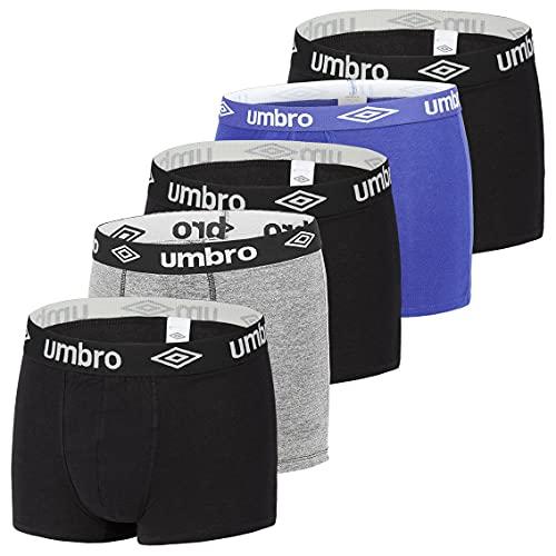 Umbro Boxer Umb/1/Bcx5 Pantaloncino, Multicolore, XXL Uomo