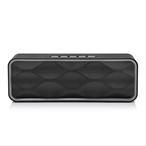 Draadloze Outdoor Bluetooth Speaker Draagbare Kaart Subwoofer Auto Subwoofer Computer Kleine Luidspreker, Zilver Grijs