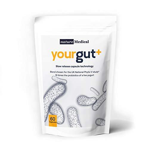 Yourgut+ 10 Times The Probiotics of a Live Yogurt   Slow Release Vegan...