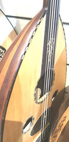 Semi Hollow Arabic Electric Oud Guitar Pegs