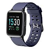 YAMAY Smartwatch, Impermeable Reloj Inteligente con Cronómetro, Pulsera Actividad...
