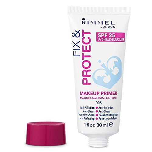 Rimmel London Fix & Protect, Base de Maquillaje Tono Primer, SPF 25, 30 ml