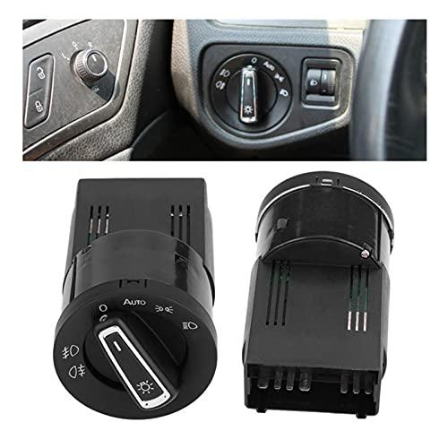NERR YULUBAIHUO Interruptor de la luz Delantera Cabeza de Niebla Lámpara de luz Módulo Módulo de Sensor Ajuste para VW Golf Jetta MK4 Passat B5 Polo Accesorios para automóviles
