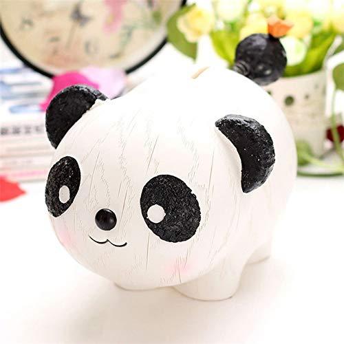 ROIY Zodiac Dog Mascot Doll Resin Piggy Bank Piggy Bank Gift Panda Ornaments Piggy Bank Best Christmas Birthday Gifts Kids Money Bank Desktop Decor