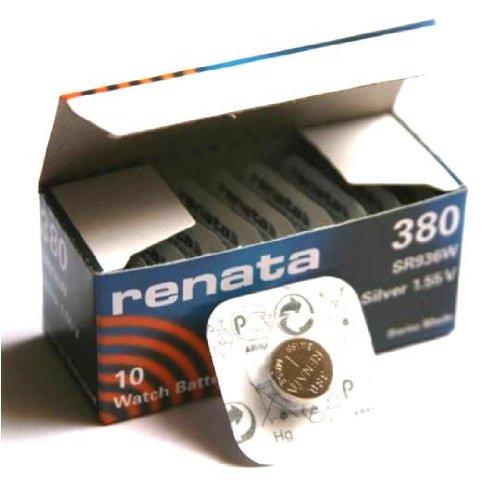 Renata Uhrenbatterie SP 380 ///;(394-) SR936SW (SR45,AG9,LR936,LR45,194);1 Pack