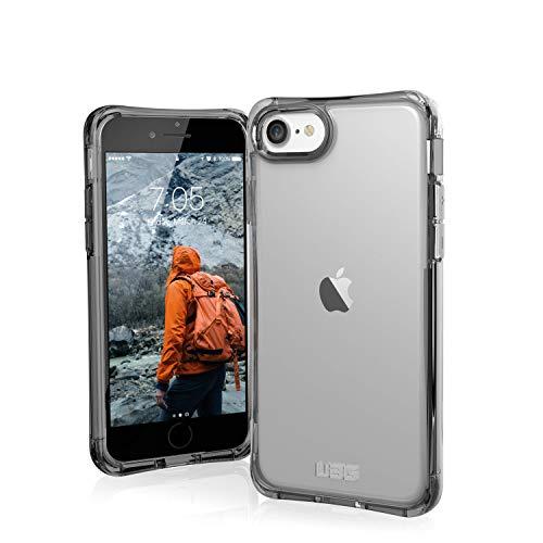 Urban Armor Gear Plyo Funda para Apple iPhone SE (2020) /8 /7 /6S Cubierta protectora (Compatible con la carga inalámbrica, Resistente a los choques, Parachoques ultra delgado) - Transparente