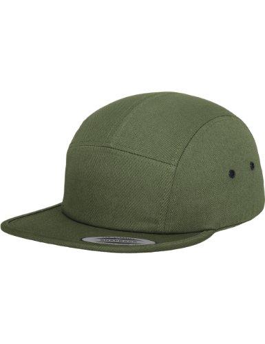 Flexfit Erwachsene Mütze Classic Jockey Cap, Olive, One size