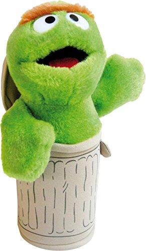 Sesamstraat pluche figuur Oscar - 30 cm